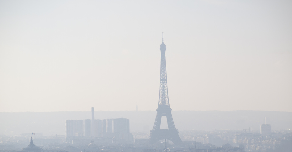 Paris dans la pollution